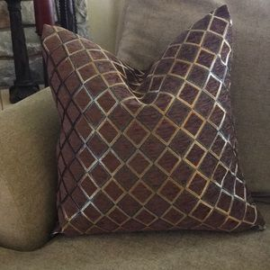 Chenille Set/4 Pillow Covers
